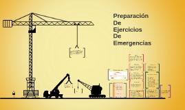 Preparación de ejercicios de emergencia