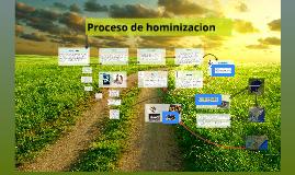 """""""Proceso de hominización"""" - otro"""