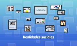 Copy of REALIDADES SOCIALES