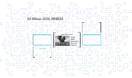 24 Nisan 2016, NHKM