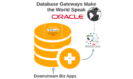 Oracle Gateway to Big Data, NoSQL, SaaS, Cloud, SQL, IoT