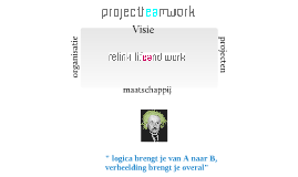 Copy of Project team Work- visie Relink