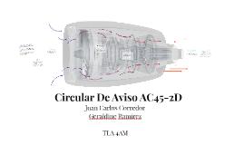 Circular Informativa AC45-2D