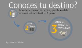Copy of Elige tu Destino de Movilidad