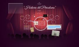 """""""Historia del Periodismo"""""""