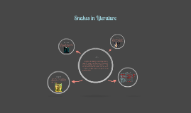 Copy of Snakes in Literature and Film