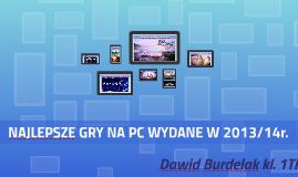 PRZEGLĄD GIER KOMPUTEROWYCH Z 2014R.