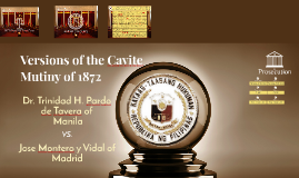 Copy of Versions of the Cavite Mutiny of 1872