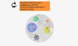 Copy of SISTEMA EDUCATIVO RD, CURRICULO Y MARCO LEGAL