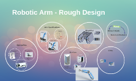Robotic Arm - Rough Design