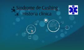 Síndrome de Cushing  Historia clínica