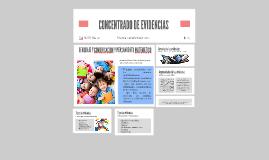 CONCENTRADO DE EVIDENCIAS