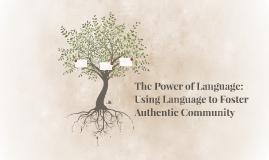 The Power of Language: Using Language to Foster Authentic Co