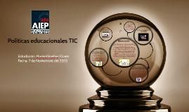 Politicas educacionales TIC
