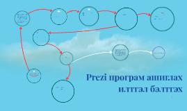 Copy of Prezi програм ашиглах илтгэл бэлтгэх