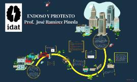 J.R. ENDOSO Y PROTESTO