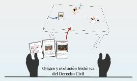 Origen y evolución histórica del Derecho Civil