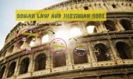 Roman Law and Justinian Code