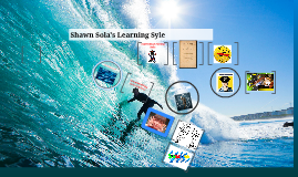Shawn Sola's Learning Style