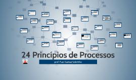 24 Princípios de Processos