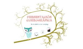 Copy of PRESENTACIÓN COREOGRÁFICA
