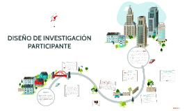 DISEÑO DE INVESTIGACIÓN PARTICIPATE