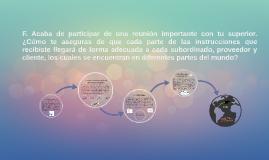 Pregunta F. Como parte del proceso de Admisión en el IE (Madrid)