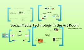 Social Media Technology in the Art Room