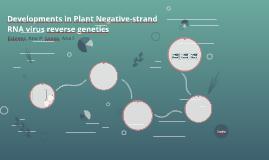 Developments in Plant Negative-strand RNA virus reverse gene