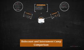 Copy of Holocaust and Internment Camp Comparison