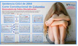 Sentencia C014 de 2004