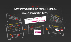 Koordinationsstelle für Service Learning
