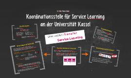Koordinationsstelle für Service Learning
