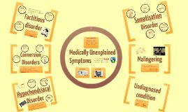 Medically Unexplained symptoms workshop