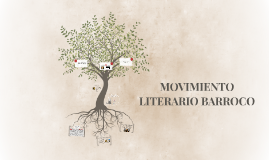 MOVIMIENTO LITERARIO BARROCO