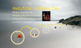 Analytical Listening Presentation