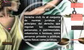 Copy of Derecho civil