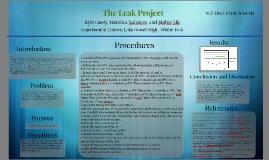 Leak Project