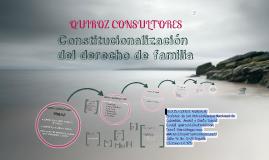 constitucionalizaciòn del derecho de familia