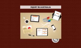 PDHPE - injury presentation
