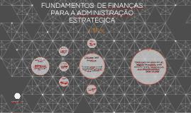 FUNDAMENTOS  DE FINANÇAS PARA A ADMINISTRAÇÃO ESTRATÉGICA
