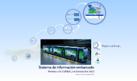Sistema de información embarcado