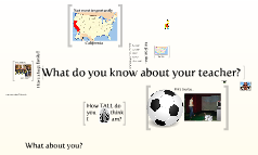 What do you know about your teacher?