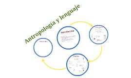Antropología y lenguaje