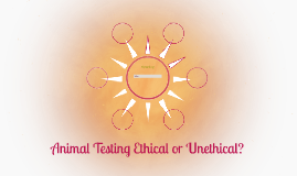 animal testing unethical