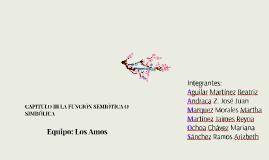 Capitulo III FUNCION SEMIOTICA O SIMBOLICA