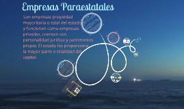 Copy of Empresas Paraestatales