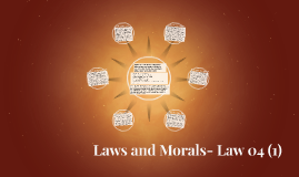Laws and Morals