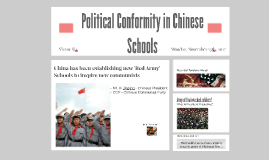 Political Education in China