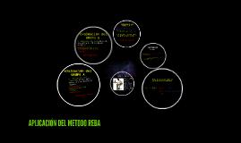 APLICACION DEL METODO REBA